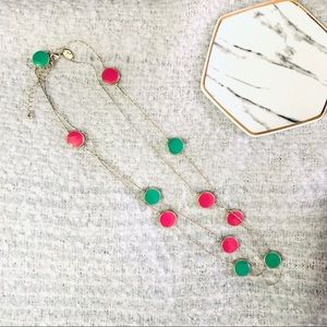 Charming Charlie Circle Pendant Necklace